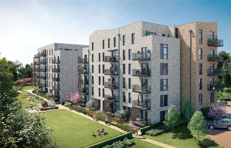 2 Bedrooms Flat for sale in Watford Riverwell, Thomas Sawyer Way, Watford, Hertfordshire, WD18