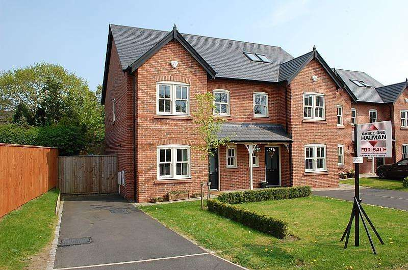 3 Bedrooms Semi Detached House for sale in Badgers Croft, Mobberley