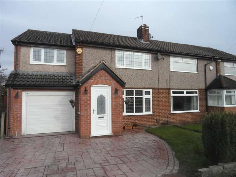 3 Bedrooms Semi Detached House for sale in Rossendale Road, Heald Green