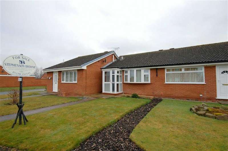 1 Bedroom Terraced Bungalow for sale in Hythe Avenue, Crewe