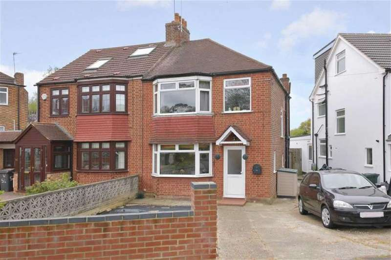 3 Bedrooms Semi Detached House for sale in Western Way, Barnet, Hertfordshire