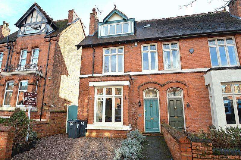 5 Bedrooms Semi Detached House for sale in Cambridge Road, Moseley, Birmingham, B13 9UD