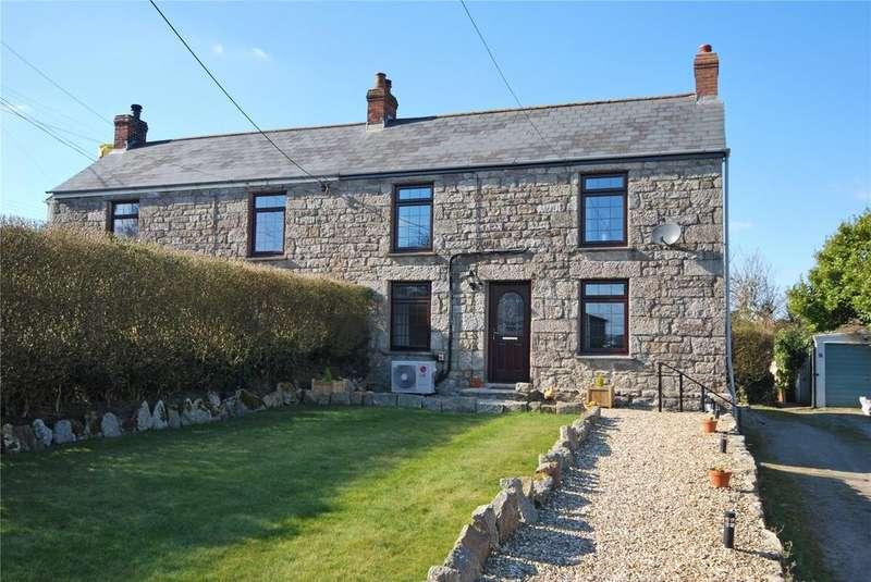 2 Bedrooms Semi Detached House for sale in Polkanuggo Cottages, Polkanuggo Lane, Herniss, Penryn