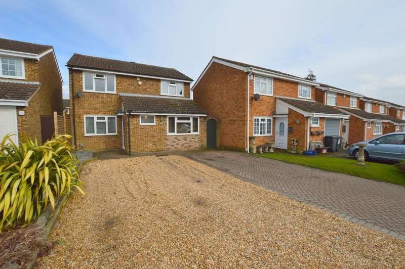 4 Bedrooms Detached House for sale in Buckingham Drive, Stopsley, Luton, LU2 9RB