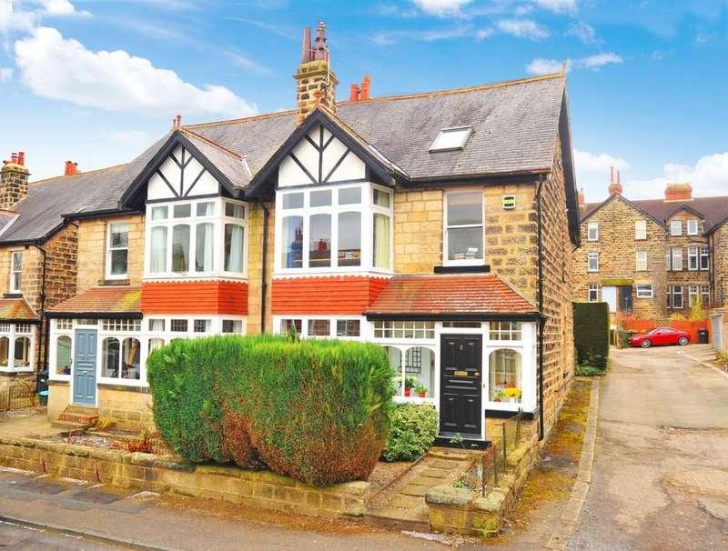 4 Bedrooms Semi Detached House for sale in Wordsworth Crescent, Harrogate