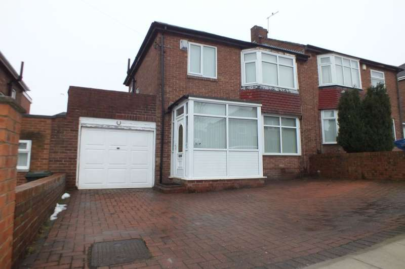 3 Bedrooms Semi Detached House for sale in Bellister Grove, Newcastle Upon Tyne, NE5