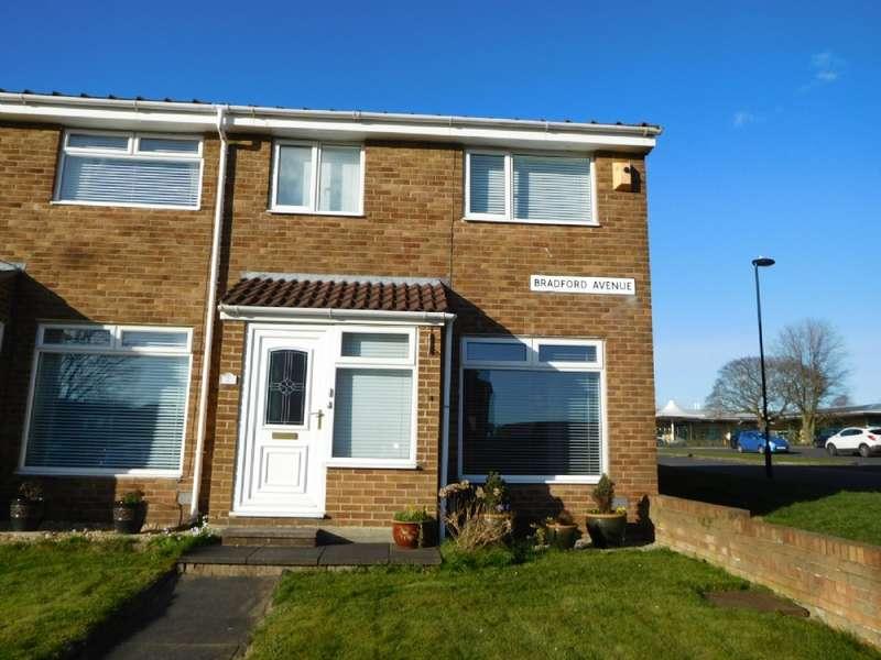 3 Bedrooms Terraced House for rent in Bradford Ave, Battlehill, Wallsend. NE28 9DD