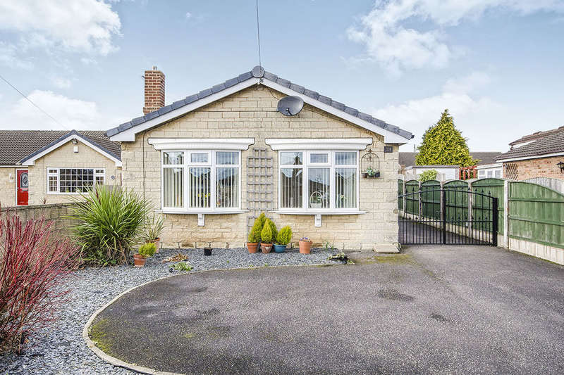 2 Bedrooms Detached Bungalow for sale in Marlborough Avenue, Byram, Knottingley, WF11