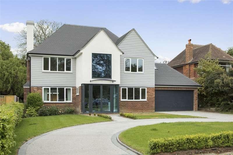 6 Bedrooms Detached House for sale in Cricket Way, Weybridge, Surrey, KT13
