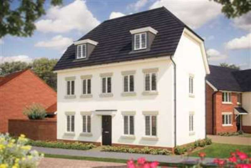 4 Bedrooms Detached House for sale in TheWarwick, St Marys, Kings Field, Biddenham
