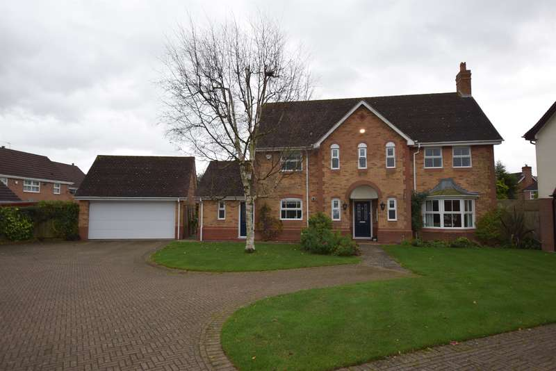 5 Bedrooms Detached House for sale in Linton Avenue, Solihull, West Midlands, B91 3NN