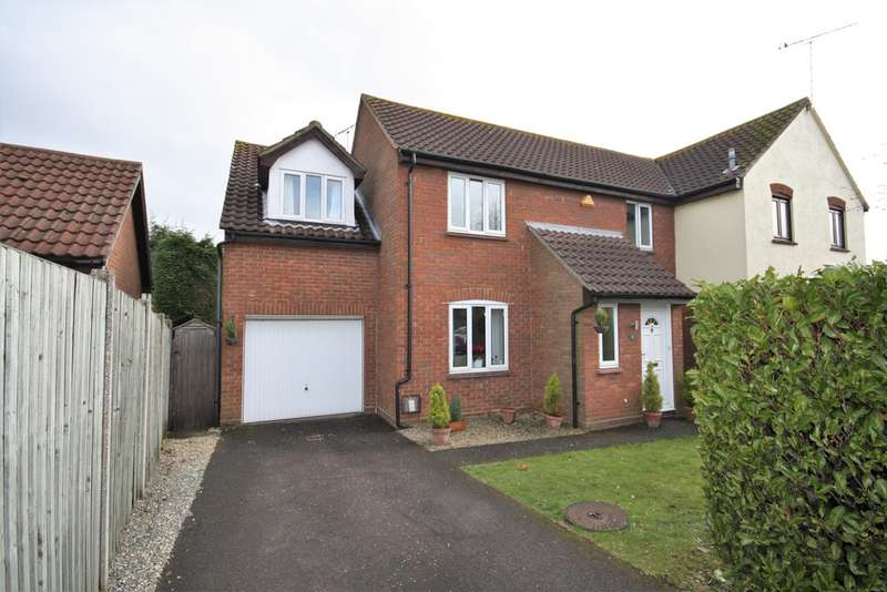 3 Bedrooms Semi Detached House for sale in Chelmer Village, Chelmsford