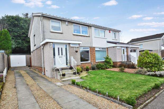 3 Bedrooms Semi Detached House for sale in Acacia Drive, Barrhead, G78