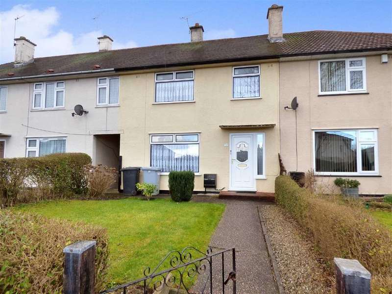 3 Bedrooms Terraced House for sale in Ash Road, Crewe