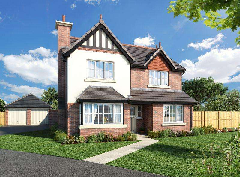 4 Bedrooms Detached House for sale in Plot 2, The Levens, Walton Gardens, Liverpool Road, Hutton