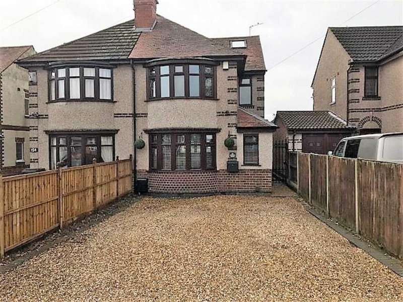 4 Bedrooms Semi Detached House for sale in Ansley Road, Stockingford, Nuneaton