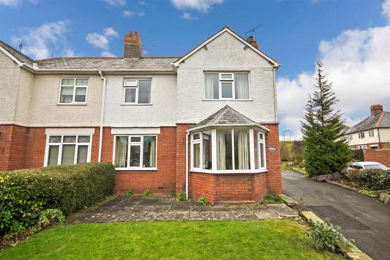 3 Bedrooms Semi Detached House for sale in Middleton Road, Oswestry
