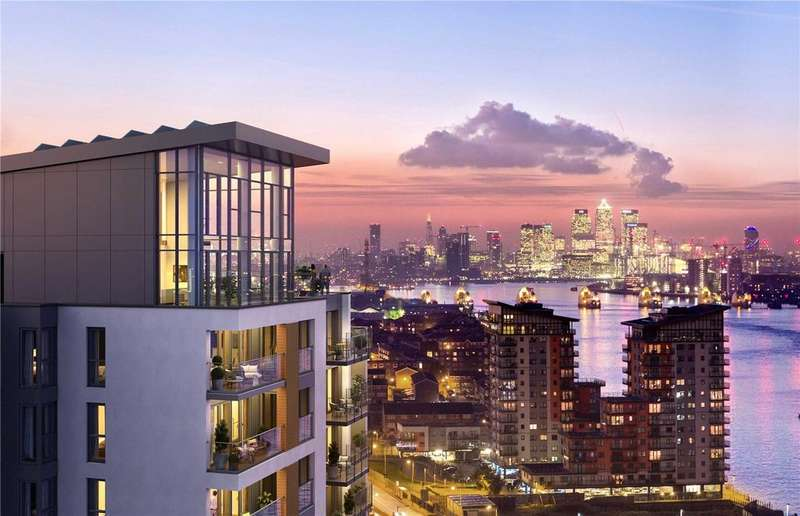 2 Bedrooms Apartment Flat for sale in Callis Yard, Woolwich, SE18