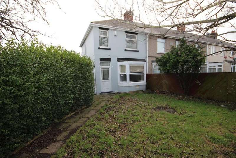 3 Bedrooms End Of Terrace House for sale in Meryl Gardens, Stockton Road, Hartlepool