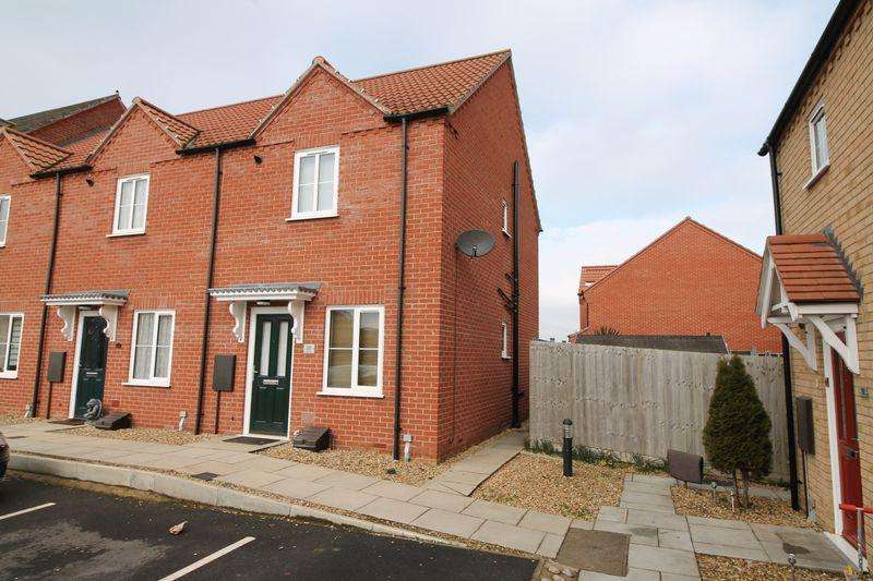 2 Bedrooms End Of Terrace House for sale in Poppy Close Spalding