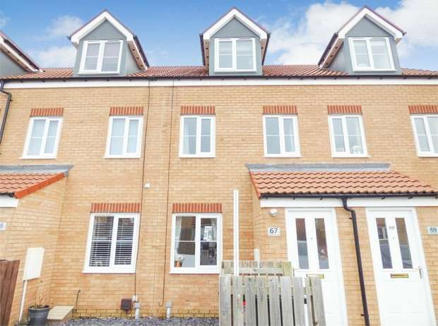 3 Bedrooms Terraced House for sale in Greensforge Drive, Ingleby Barwick, Stockton-on-Tees, North Yorkshire