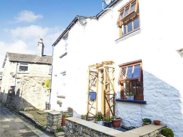 2 Bedrooms Terraced House for sale in Fossil Step Cottage, Back Lane, Kendal, Cumbria