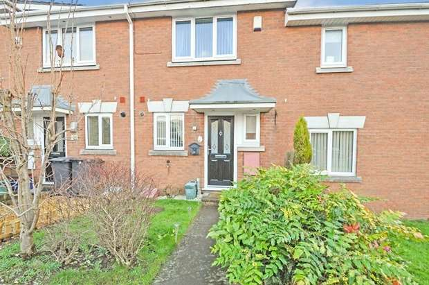 2 Bedrooms Terraced House for sale in Ironbridge Drive, Newcastle, Staffordshire