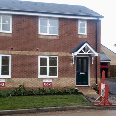 3 Bedrooms Semi Detached House for rent in Paterson Drive, Stafford