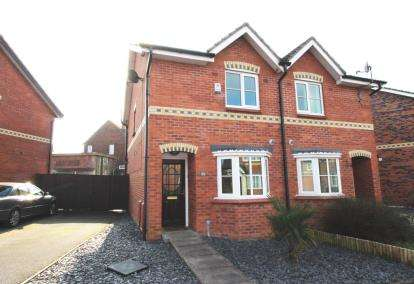 2 Bedrooms Semi Detached House for sale in Beaford Road, Wythenshawe, Greater Manchester