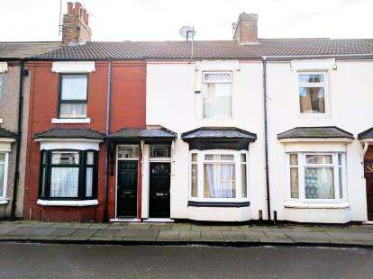 2 Bedrooms Terraced House for sale in Thornton Street, Middlesbrough, .
