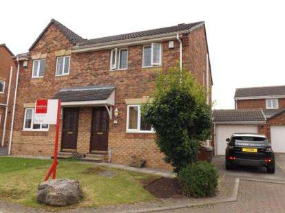 3 Bedrooms Semi Detached House for sale in Larchfield Way, Ryhill, Wakefield, West Yorkshire