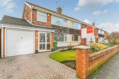 3 Bedrooms Semi Detached House for sale in Devonshire Road, Padgate, Warrington, Cheshire