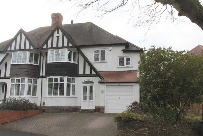 4 Bedrooms Semi Detached House for sale in Manor Road North, Edgbaston