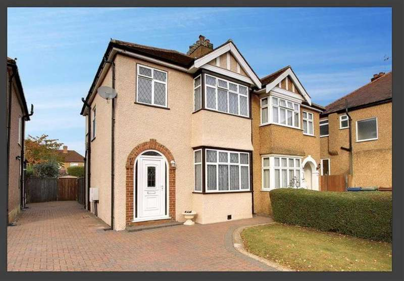 3 Bedrooms Semi Detached House for sale in Park Crescent, Harrow Weald, Middlesex