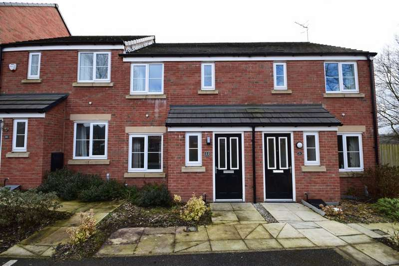2 Bedrooms Terraced House for sale in Dyehouse Close, Whitworth OL12