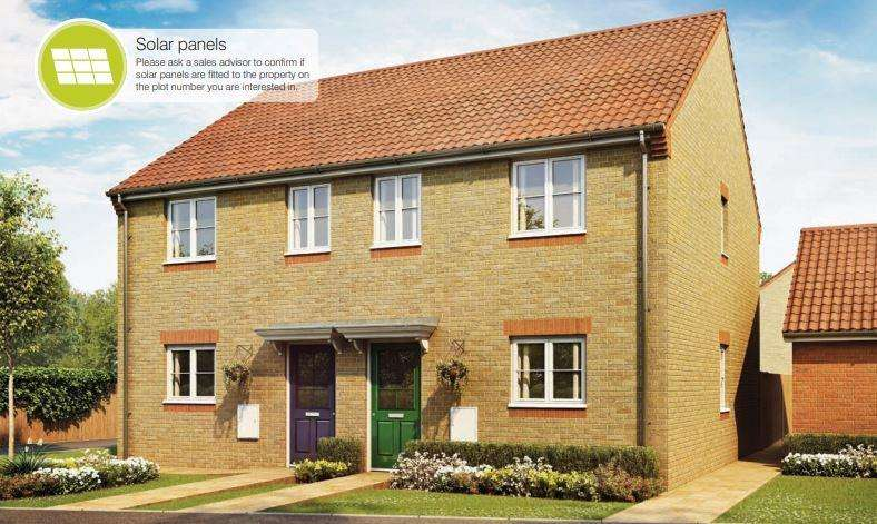 3 Bedrooms Terraced House for sale in Bourne Green, Bourne