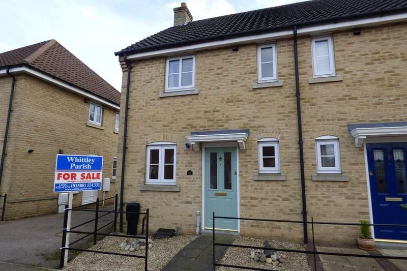 2 Bedrooms End Of Terrace House for sale in Field Acre Way, Long Stratton
