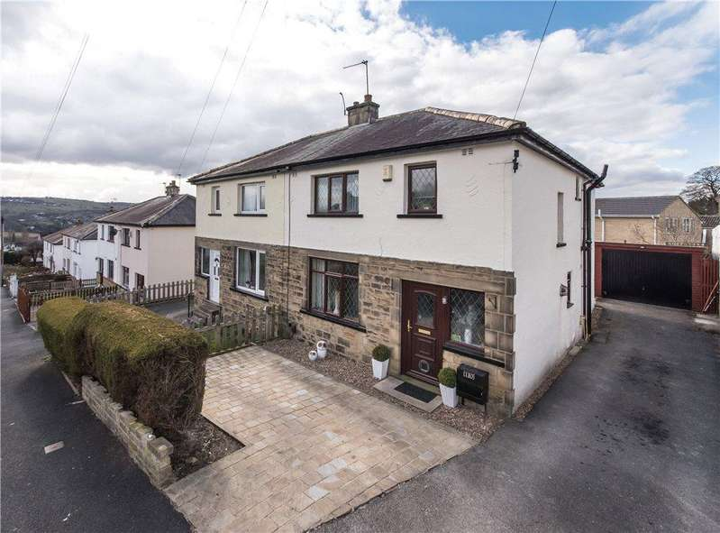 4 Bedrooms Semi Detached House for sale in South Hill Drive, Bingley, West Yorkshire