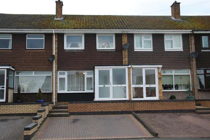 3 Bedrooms Terraced House for sale in Chaytor Road, Polesworth, Tamworth