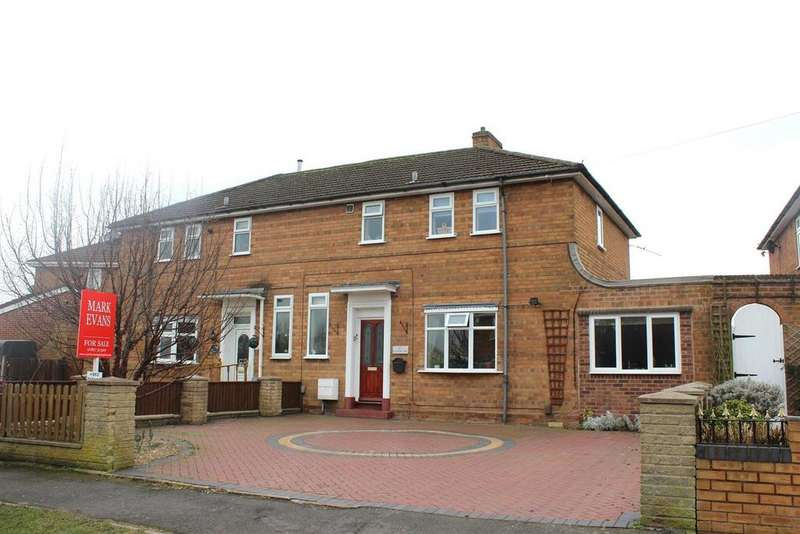 4 Bedrooms Semi Detached House for sale in Buxton Avenue, Fazeley, Tamworth