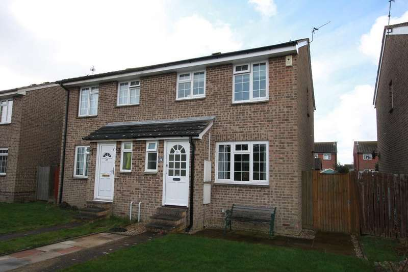 3 Bedrooms Semi Detached House for sale in Shelley Walk, Eastbourne BN23