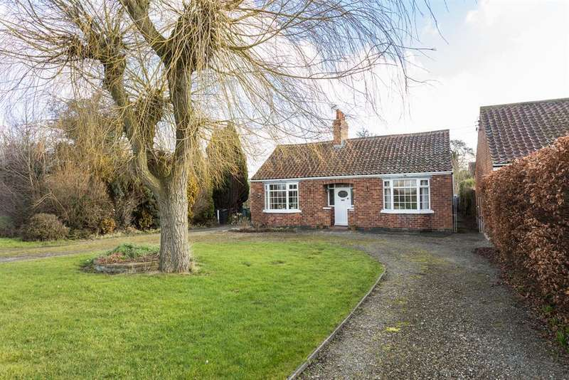 4 Bedrooms Detached Bungalow for sale in Strensall Road, Earswick, York, YO32 9SW