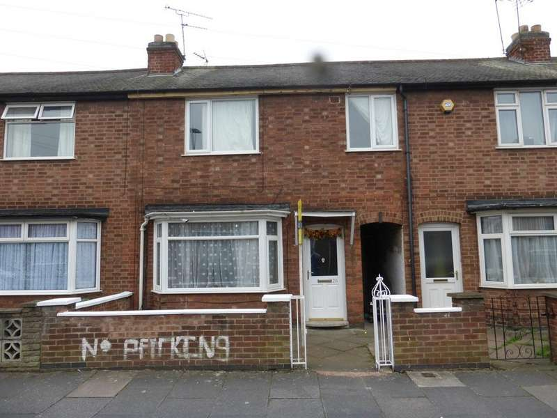 3 Bedrooms Terraced House for sale in Prestwold Road, Leicester, LE5