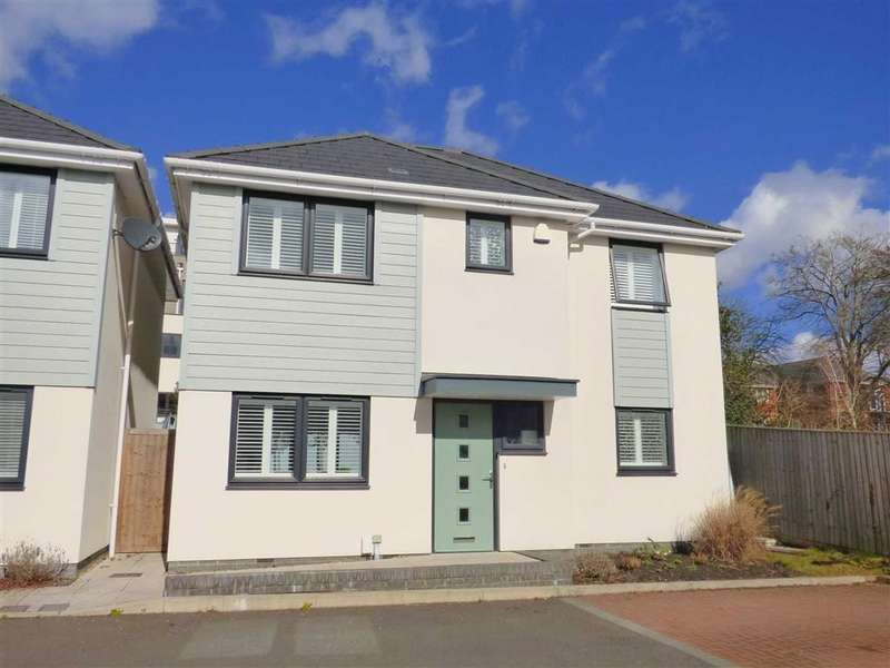 3 Bedrooms Detached House for sale in The Cuttings, Lower Parkstone, Poole, Dorset