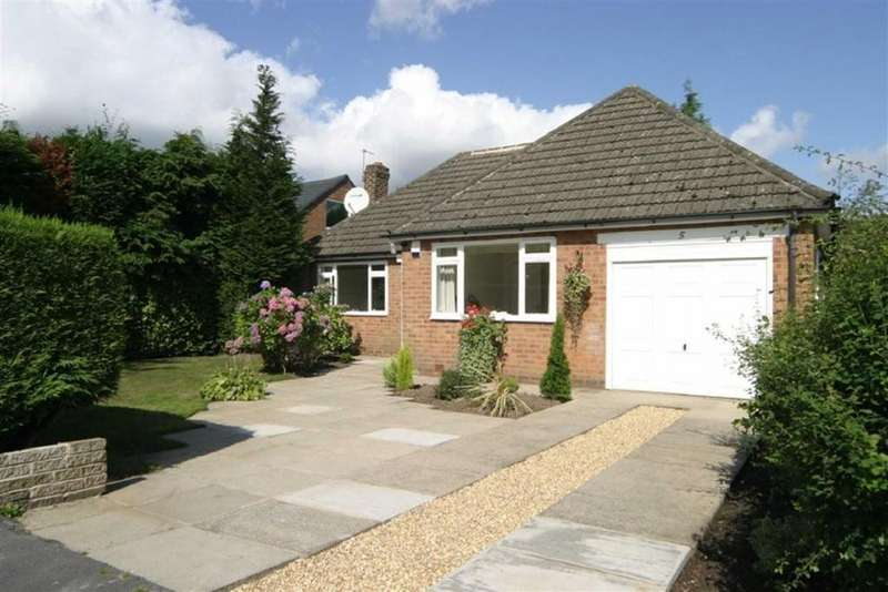 3 Bedrooms Detached Bungalow for rent in Marlfield Road, Hale Barns, Cheshire