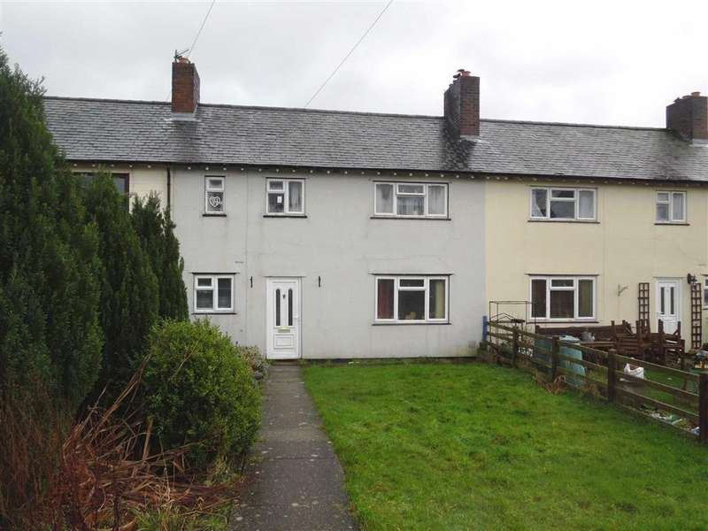 3 Bedrooms Terraced House for rent in Springfields, Welshpool, SY21