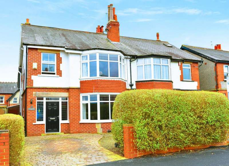 4 Bedrooms Semi Detached House for sale in Lynton Gardens, Harrogate