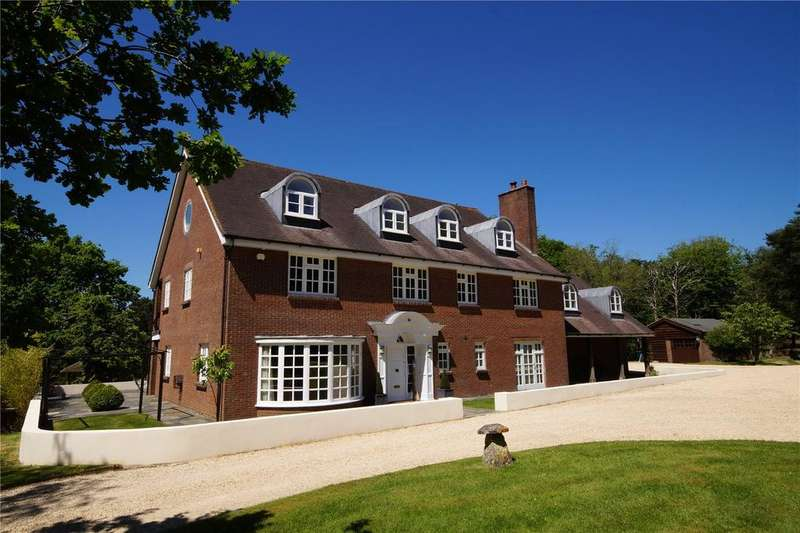 6 Bedrooms Detached House for sale in Rushall Lane, Corfe Mullen, Wimborne, Dorset, BH21
