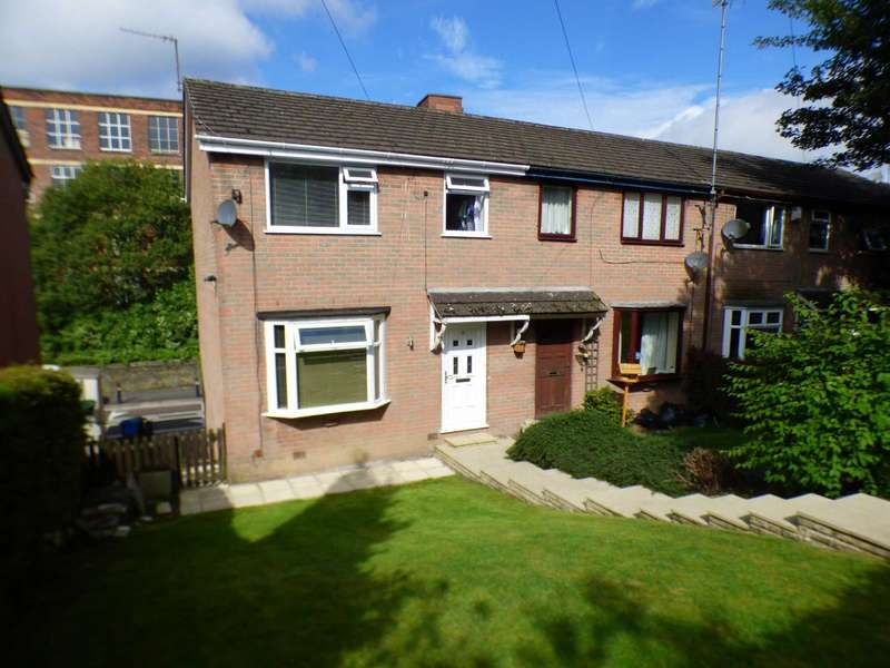 3 Bedrooms End Of Terrace House for sale in Larch Grove, Lees, Oldham, OL4
