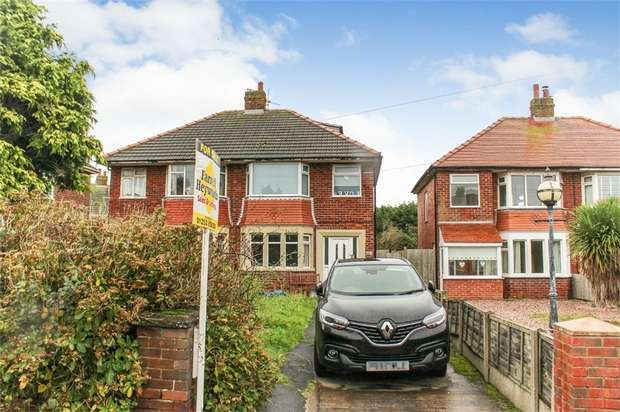 3 Bedrooms Semi Detached House for sale in Norcliffe Road, Blackpool, Lancashire
